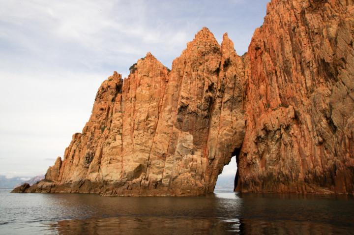 Scandola Nature Reserve in Corsica - Porto Golf view