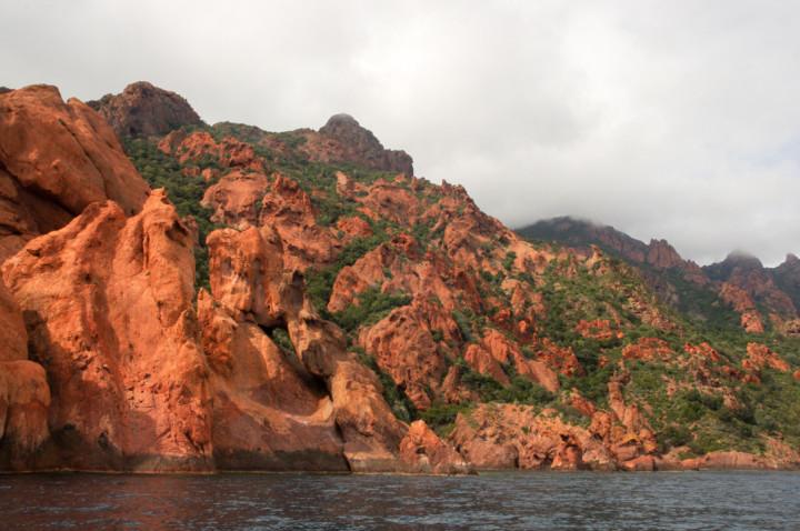 Scandola Nature Reserve in Corsica - beautiful nature