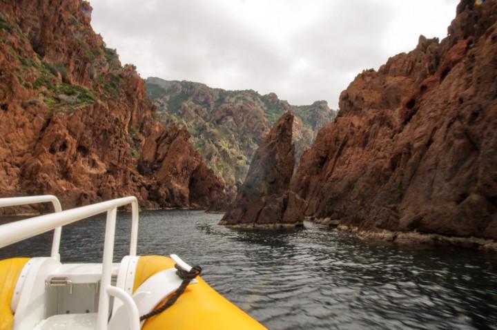 Scandola Nature Reserve in Corsica - boat trip
