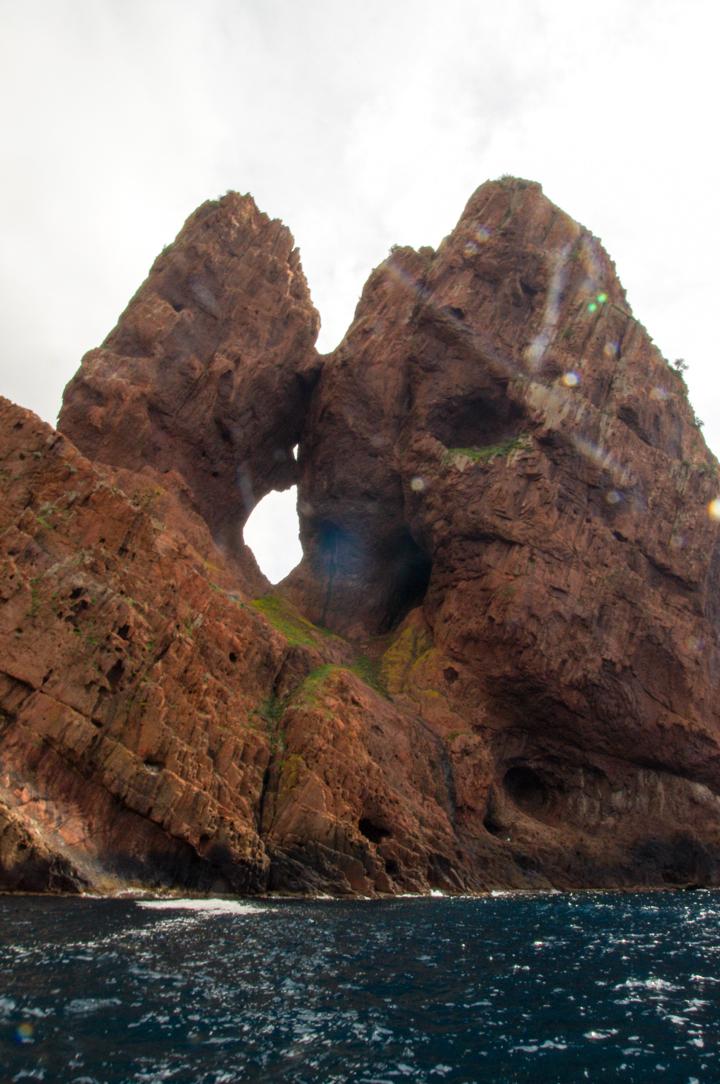 Scandola Nature Reserve in Corsica - rocks