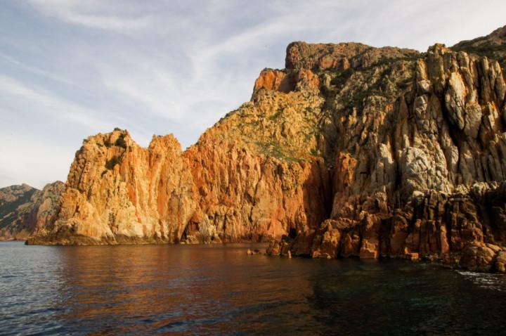 Scandola Nature Reserve in Corsica - the beautiful Porto Golf calanques