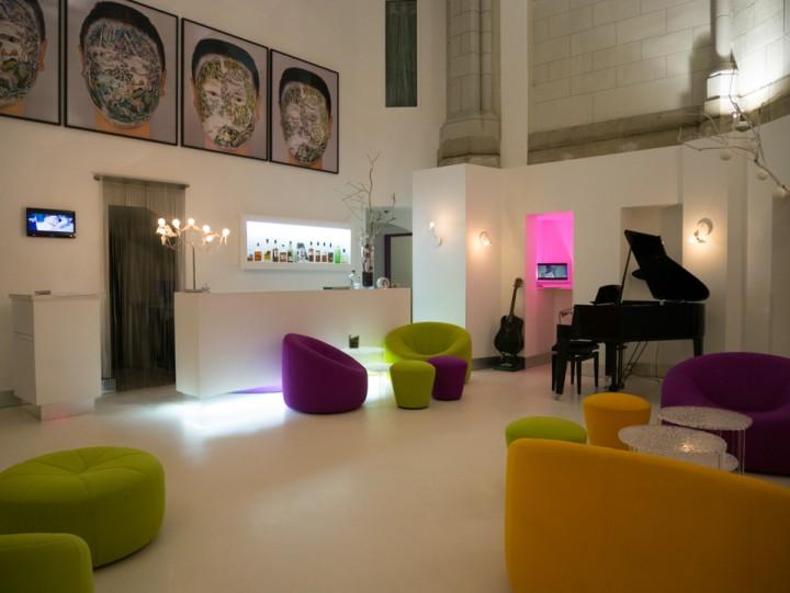 Sozo hotel - Nantes - France - lobby