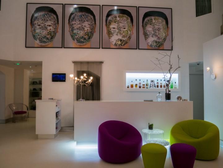 Sozo hotel - Nantes - France - reception