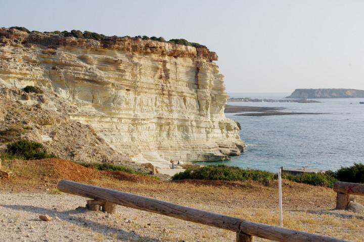 The Avakas Gorge - Cyprus - limestone seacoast