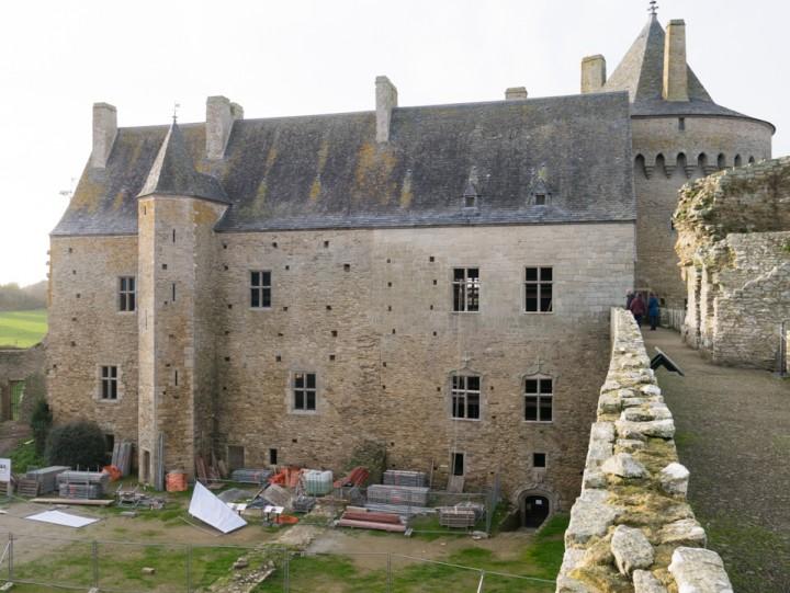 Suscinio - Brittany - France - the western dwelling