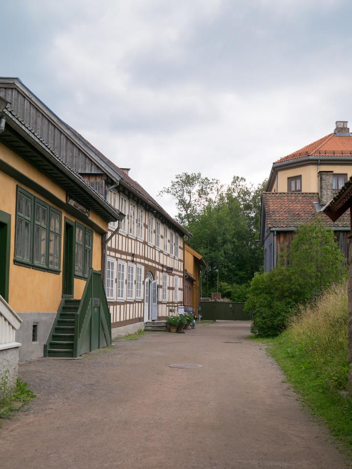 Norskfolkemuseum Oslo - Norway - open air museum - Old Town