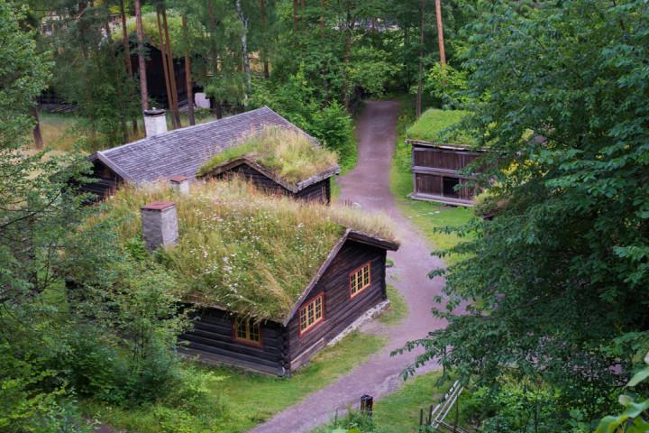 Norskfolkemuseum Oslo - Norway - open air museum - farmstead