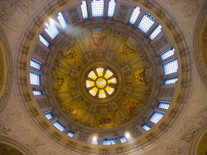 The Dome of the Berliner Dom - Berlin Cathedral - Berlin - Germany