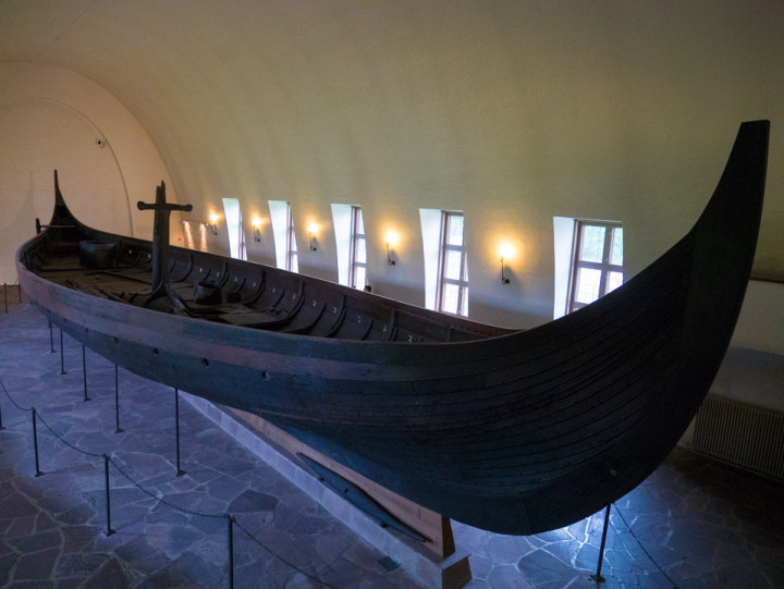 The Viking Ship Museum - Oslo - Norway - the Gokstad ship
