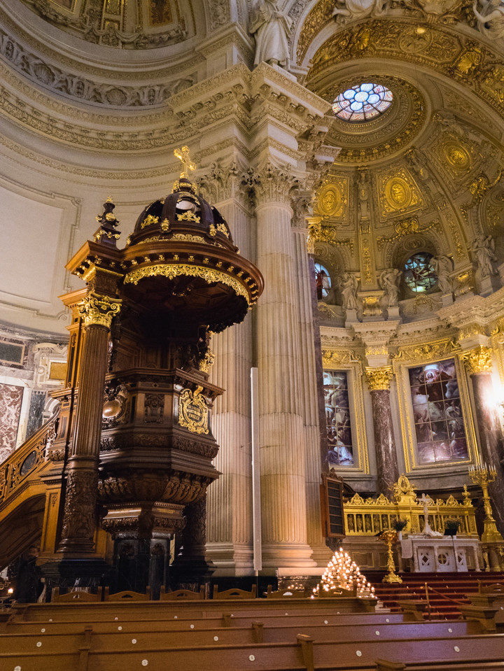 The pulpit in the Berliner Dom - Berlin Cathedral - Berlin - Germany