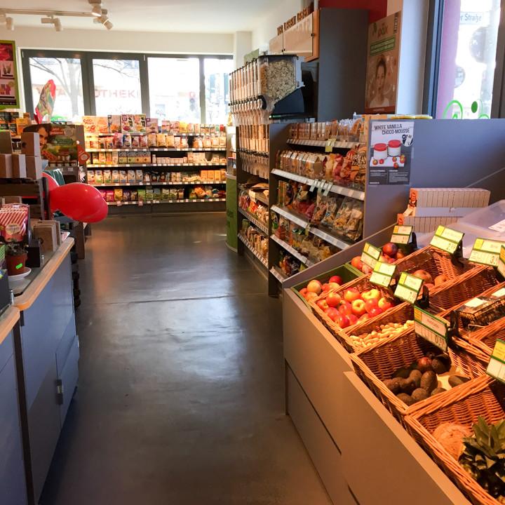 Veganz grocery store - Schivelbeiner Straße or Vegan Avenue - Berlin