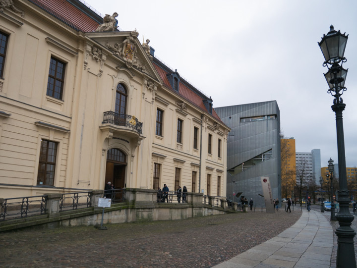 Jewish Museum Berlin - The Kollegienhaus old buidling and entrance to the museum - RoadTripsaroundtheWorld.com