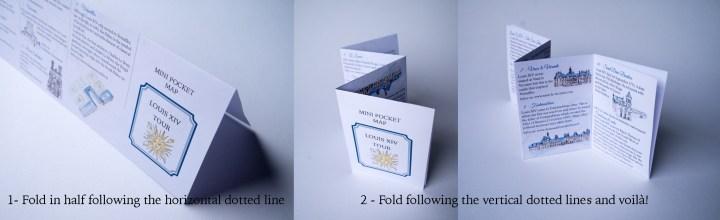 Mini guide folding instructions