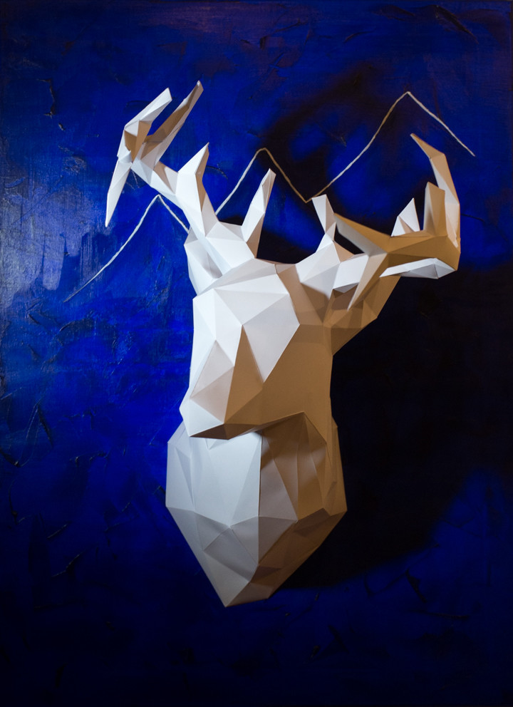 Paper deer from Berlin! - Mindful Travel Souvenirs - roadtripsaroundtheworld.com