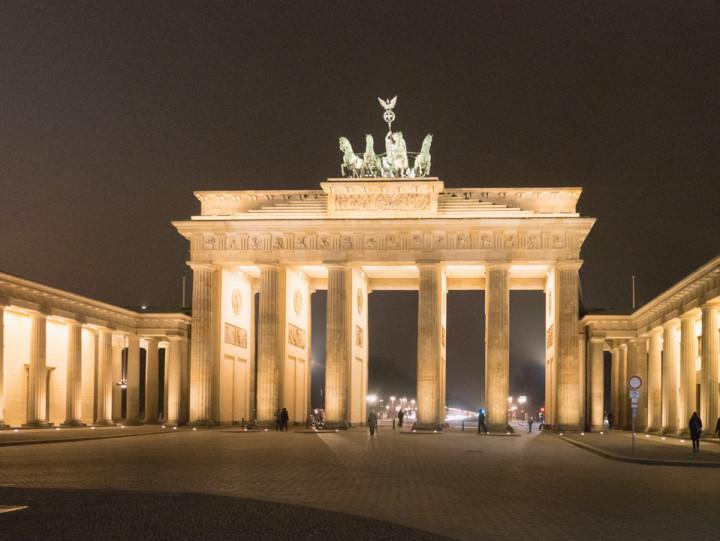 The Brandenburg Gate in Berlin, Germany - roadtripsaroundtheworld.com