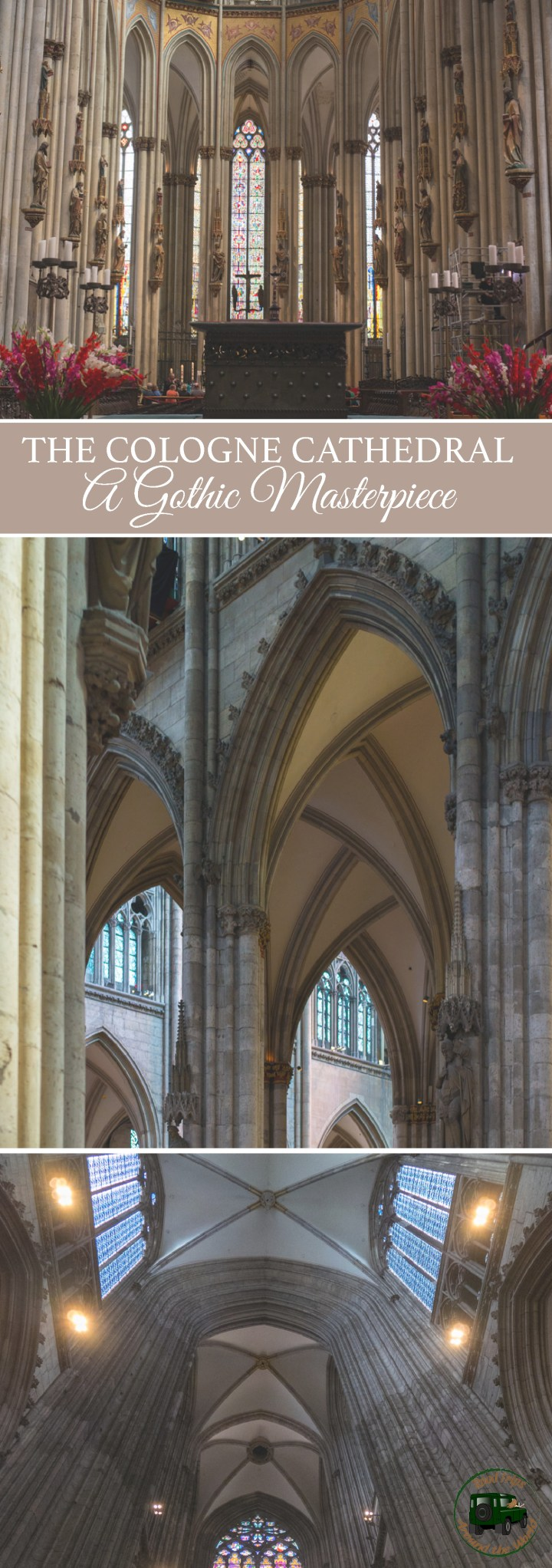 The Cologne Cathedral in Germany, a Gothic Masterpiece - Check it out on roadtripsaroundtheworld.com