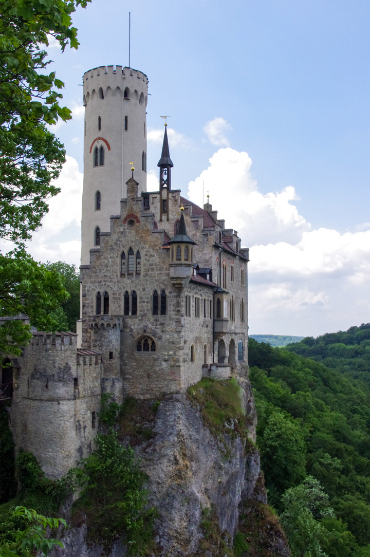 The Lichtenstein Castle - visited during a road trips in Germany - learn more on roadtripsaroundtheworld.com