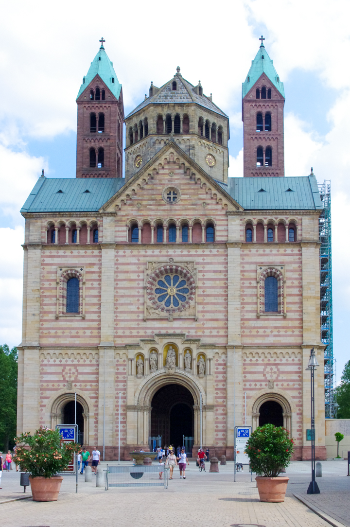 The Speyer Cathedral in Germany - The greatest Romanesque Cathedral in the World - Visit roadtripsaroundtheworld.com to learn more