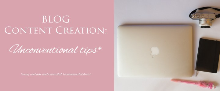 Blogging 101: Another point of view on Content Creation