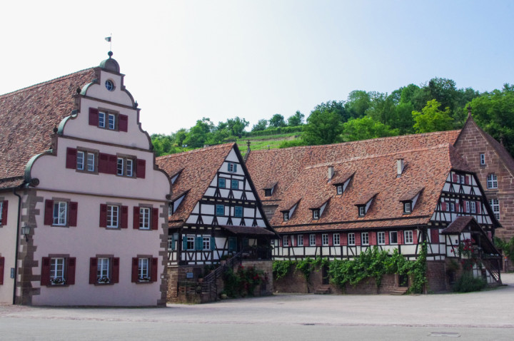 Buildings around the Maulbronn Monastery, Germany - Find out more on roadtripsaroundtheworld.com