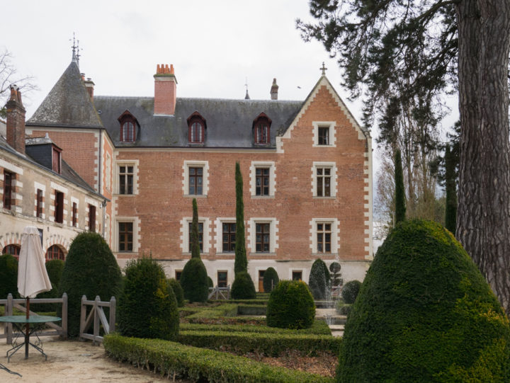 View of the back of the Clos Lucé, France - Find out more on roadtripsaroundtheworld.com