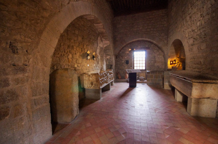 Inside the caslte of the Counts in Carcassonne - learn more on roadtripsaroundtheworld.com-