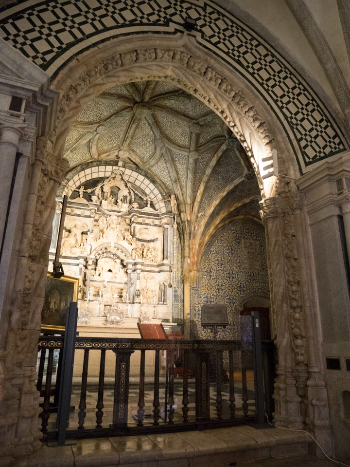 The 16th cent. Chapel of the Pena Palace - Sintra, Portugal - Learn more on roadtripsaroundtheworld.com