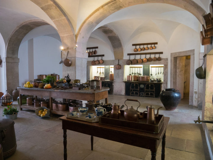 The Kitchen - Pena Palace - Sintra, Portugal - Learn more on roadtripsaroundtheworld.com