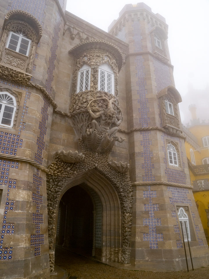 Triton - Pena Palace - Sintra, Portugal - Learn more on roadtripsaroundtheworld.com
