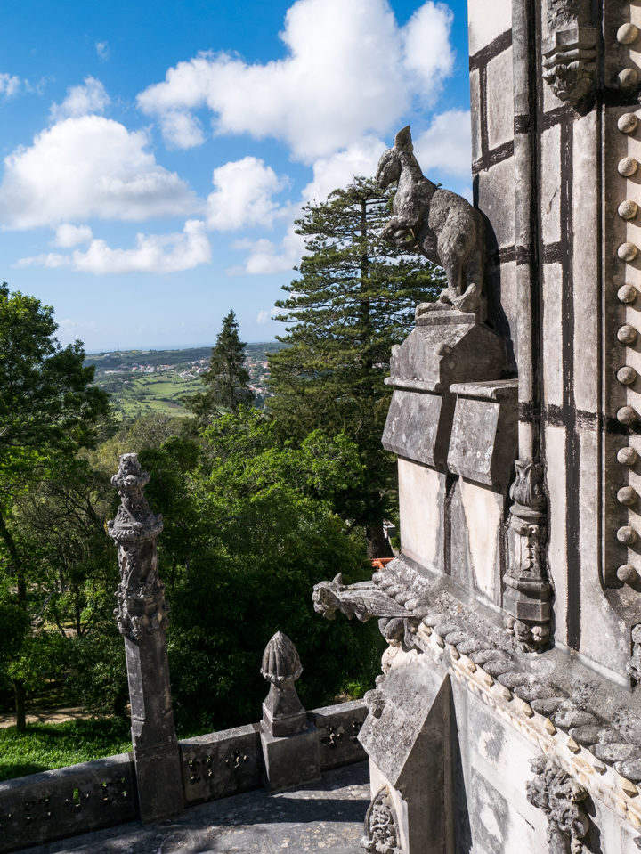 Balcony view - Quinta da Regaleira Palace - Portugal - Learn more on RoadTripsaroundtheWorld.com