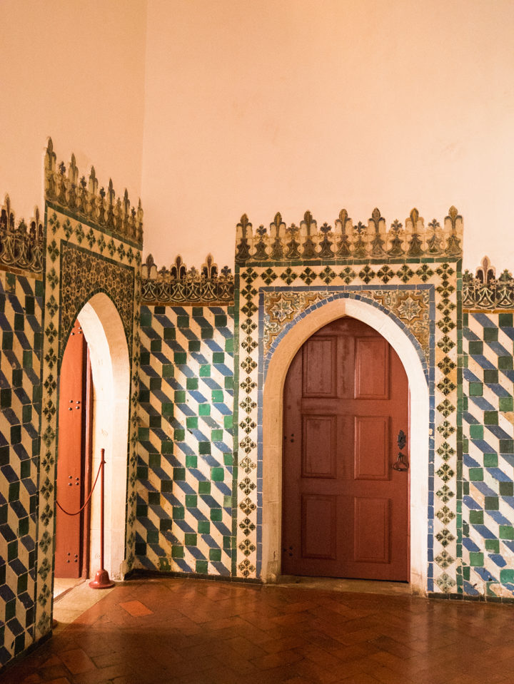 Doors of the Arab Room at the Sintra Palace - Portugal - Learn more on RoadTripsaroundtheWorld.com