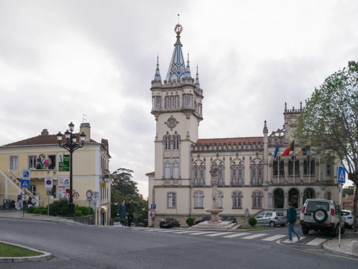 Sintra City Hall - Portugal - Learn more on RoadTripsaroundtheWorld.com