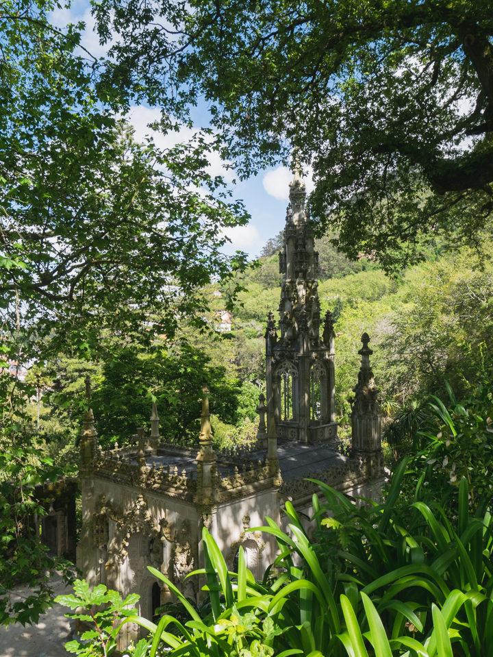 The Chapel of the Quinta da Regaleira Palace - Portugal - Learn more on RoadTripsaroundtheWorld.com