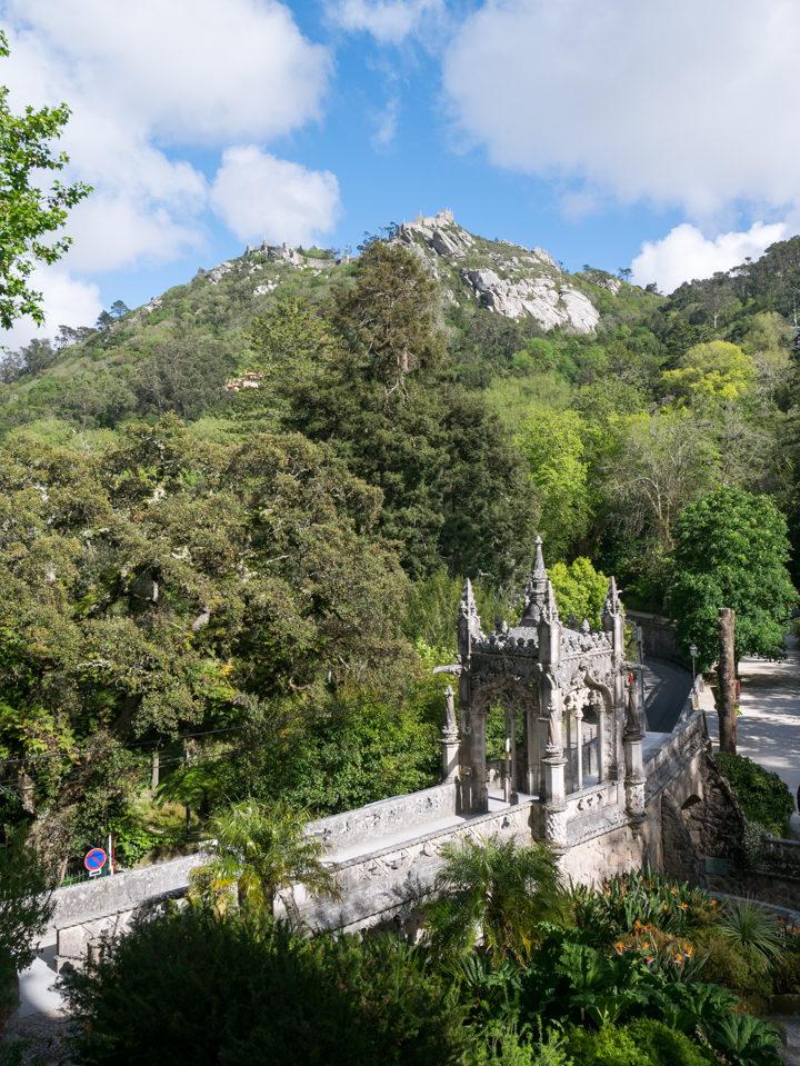 The Entrance gate of the Quinta da Regaleira Palace - Portugal - Learn more on RoadTripsaroundtheWorld.com
