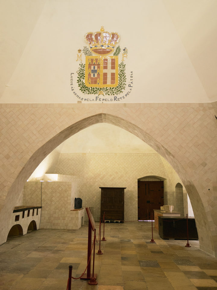 The kitchen of the Sintra Palace - Portugal - Learn more on RoadTripsaroundtheWorld.com