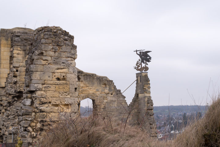 Valkenburg castle ruins, Netherlands - Learn more on www.RoadTripsaroundtheWorld.com