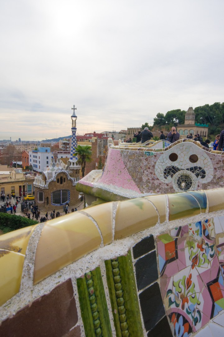 Visit of the Park Güell in Barcelona, Spain - learn more on Road Trips around the World - www.RoadTripsaroundtheWorld.com