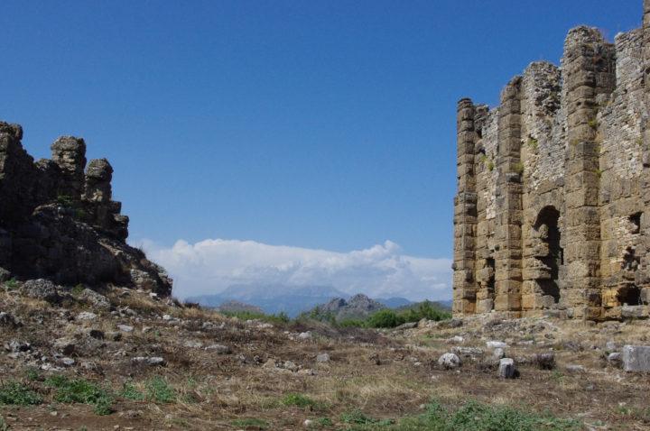 Aspendos acropolis, Turkey - www.RoadTripsaroundtheWorld.com