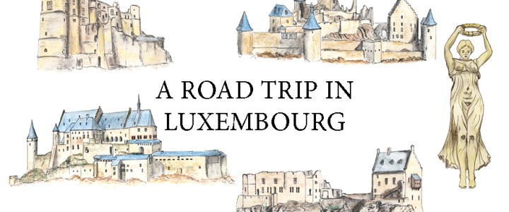 A Road Trip in Luxembourg: Free printable map for a great itinerary!