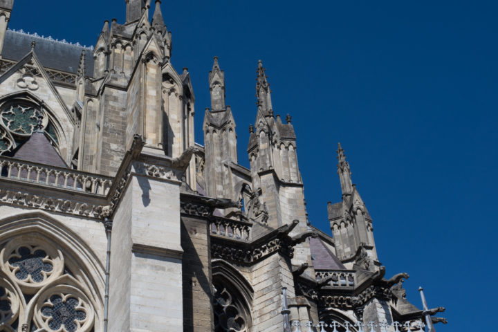 The chevet of the Amiens Cathedral, France - www.RoadTripsaroundtheWorld.com