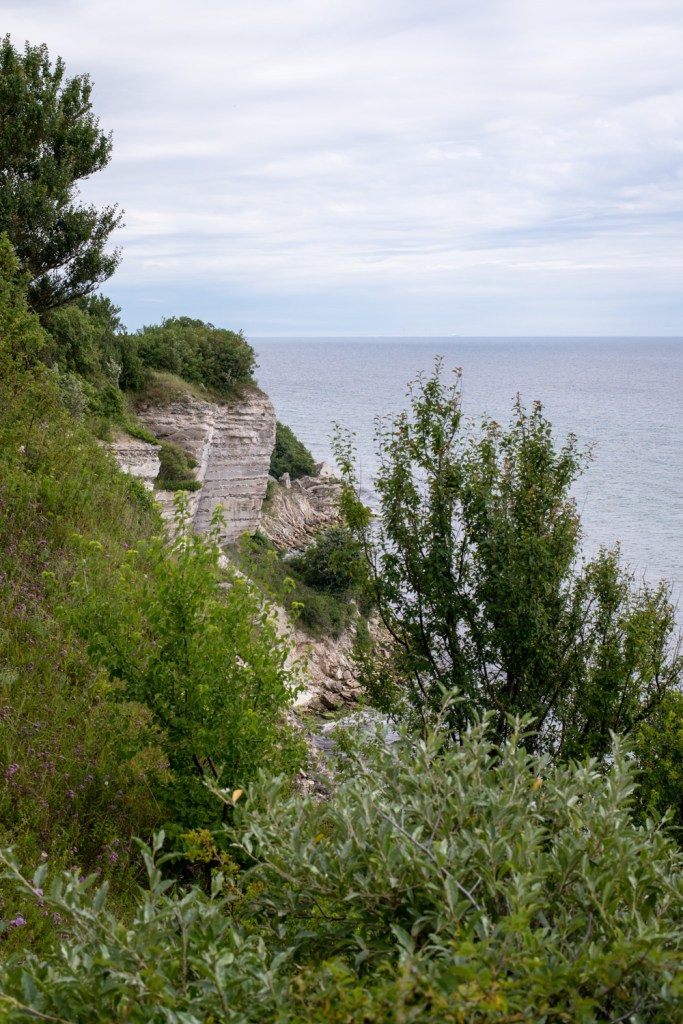 Hiking at Stevns Klint, Denmark - www.RoadTripsaroundtheWorld