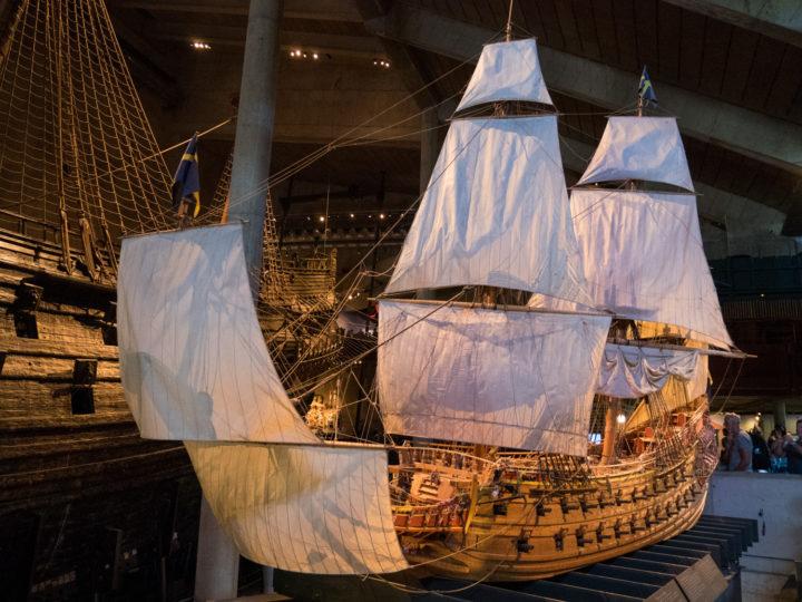 The Vasa Ship - Model - Vasa Museum - Stockholm, Sweden - www.RoadTripsaroundtheWorld.com
