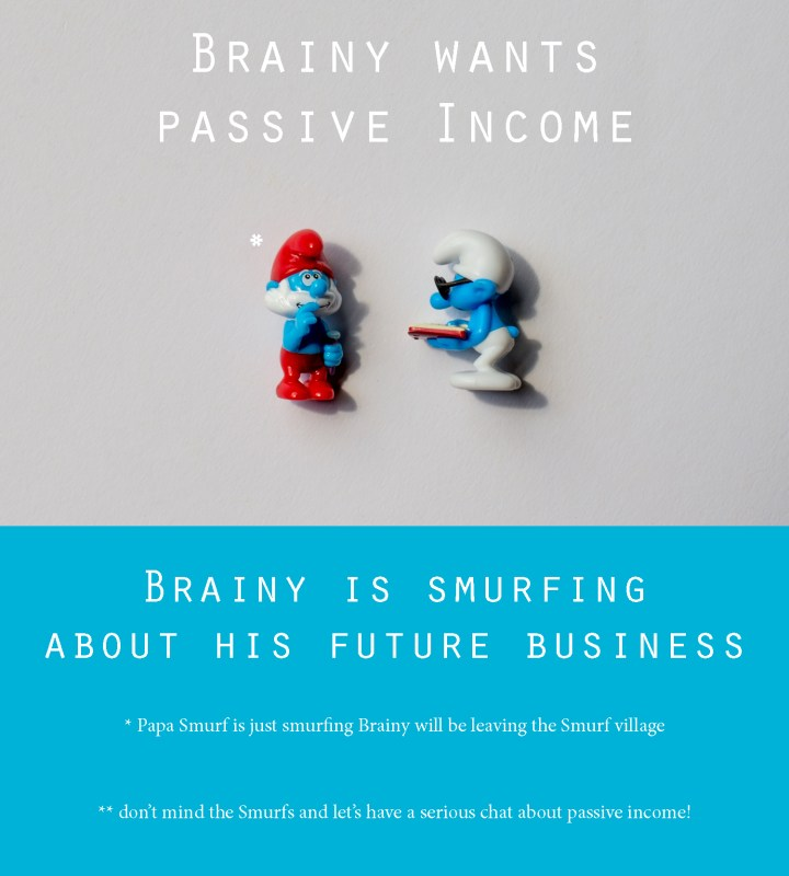 Let's talk about passive income - learn more on RTatW