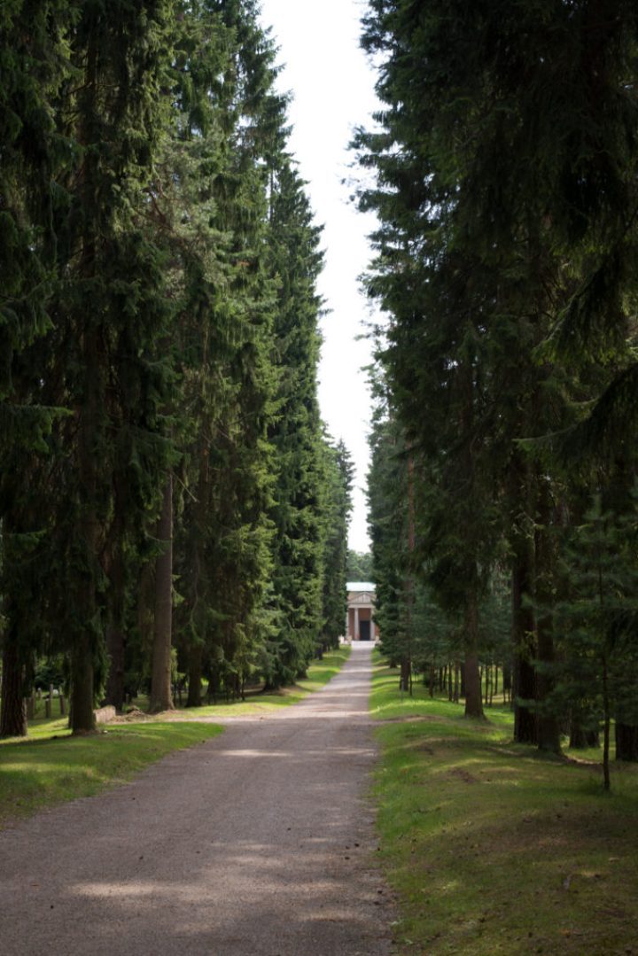 The Seven Springs Way in Skogskyrkogården - the Woodland Cemetery in Stockholm - www.RoadTripsaroundtheWorld.com