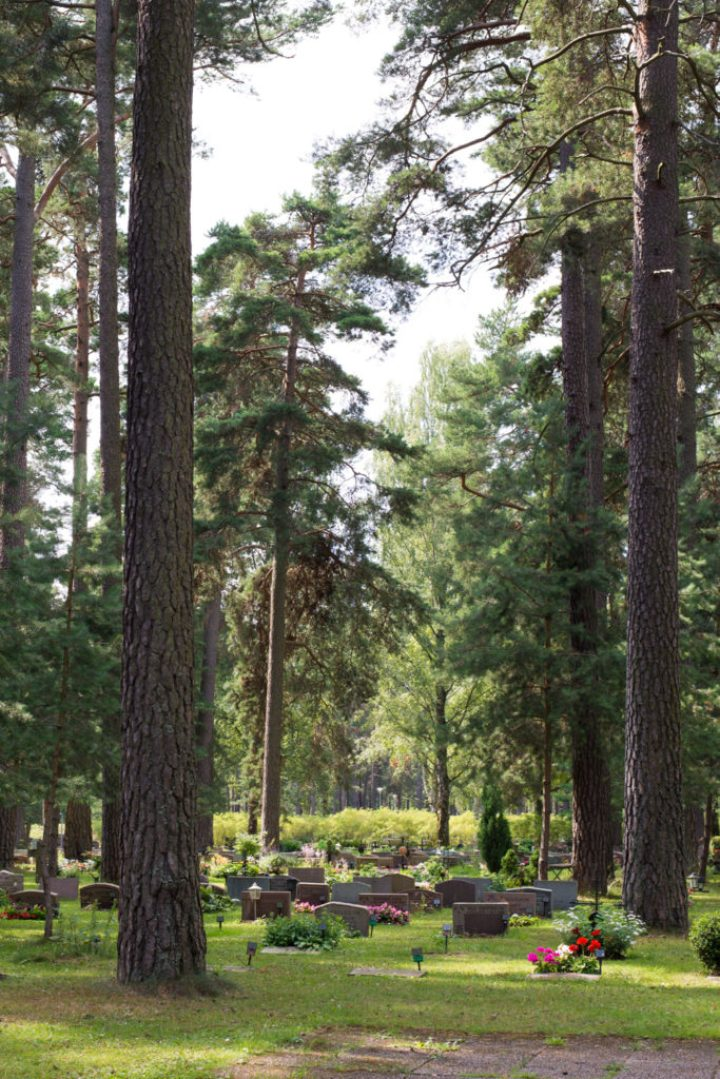 Visit Skogskyrkogården, a UNESCO World Heritage site - the Woodland Cemetery in Stockholm - www.RoadTripsaroundtheWorld.com