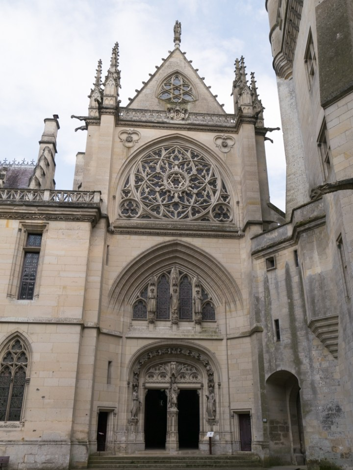 Entrance of the Chapel - Chateau de Pierrefonds, France - www.RoadTripsaroundtheWorld.com