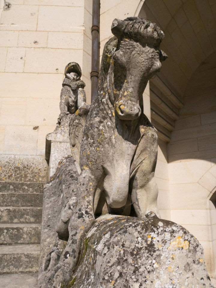 Squatting monster 2- Chateau de Pierrefonds, France - www.RoadTripsaroundtheWorld.com