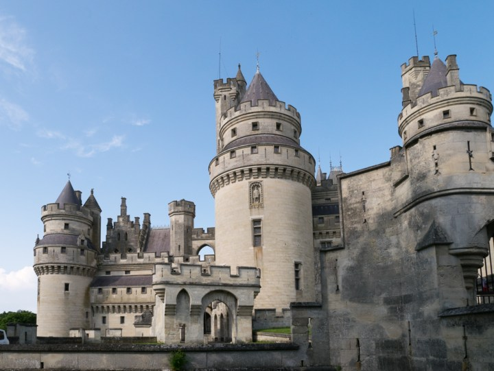 The Chateau de Pierrefonds, France - www.RoadTripsaroundtheWorld.com