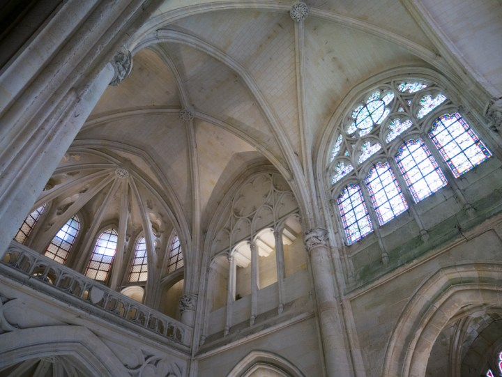 The ceiling of the chapel of the Chateau de Pierrefonds, France - www.RoadTripsaroundtheWorld.com