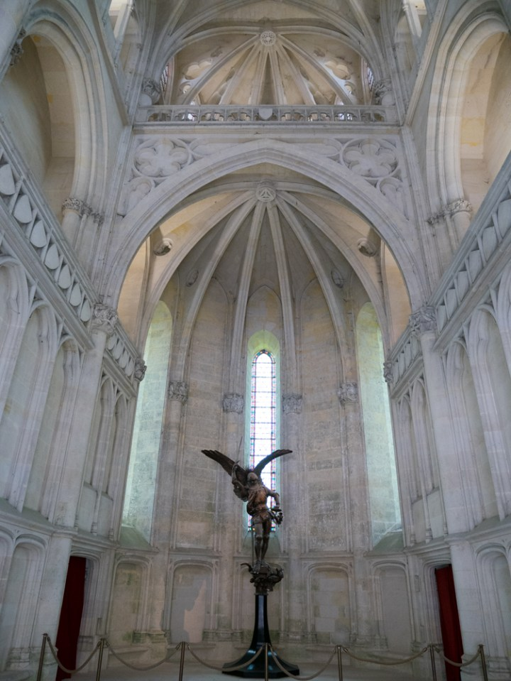 The chapel - Chateau de Pierrefonds, France - www.RoadTripsaroundtheWorld.com